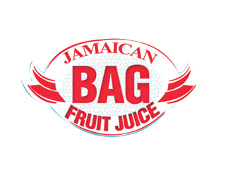 Bag fruit juice logo